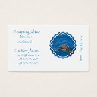 Cartes De Visite Dauphin aimable