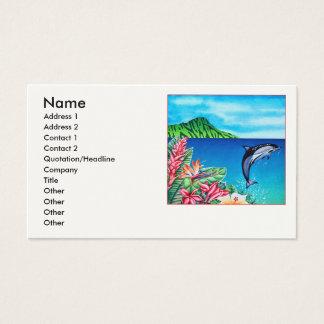 Cartes De Visite Dauphin hawaïen