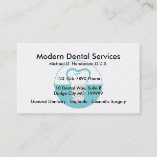 Cartes De Visite Chirurgien Dentiste