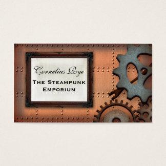 Cartes de visite de coutume de dents de Steampunk