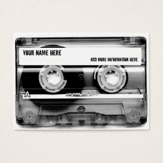 Cartes de visite de Mixtape d'enregistreur à