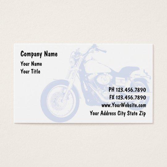Cartes de visite de moto