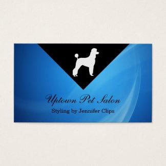 Cartes de visite de salon d'animal familier