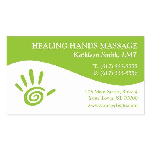 cartes de visite de th rapie de massage mod les de cartes de visite zazzle. Black Bedroom Furniture Sets. Home Design Ideas