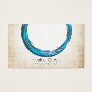 Cartes de visite de thérapie de massage | élégant carte de visite standard