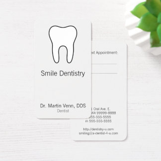 Cartes De Visite Dent