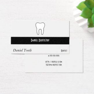Cartes De Visite Dent symbolique