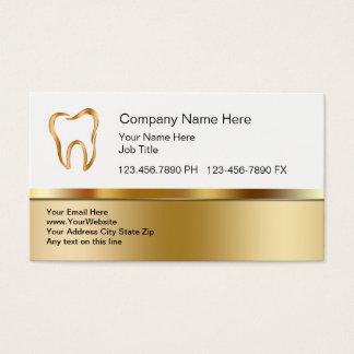 Cartes de visite dentaires chics