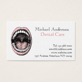 Cartes De Visite Dentiste dentaire
