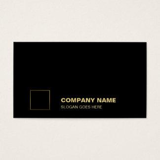 Cartes De Visite D'entreprise professionnel de plaine noire
