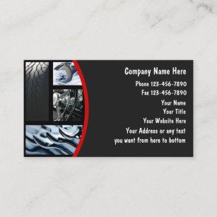 Cartes De Visite Des Vehicules A Moteur
