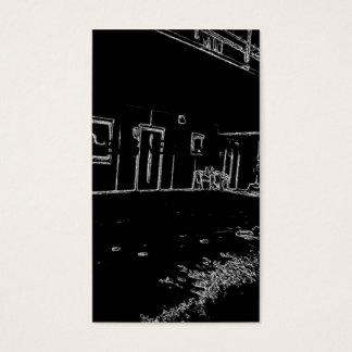 Cartes De Visite dessin noir et blanc