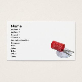 Cartes De Visite DifferentTypeMeasureCard, nom, adresse 1, Addr…