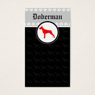 Cartes De Visite Doberman Cards