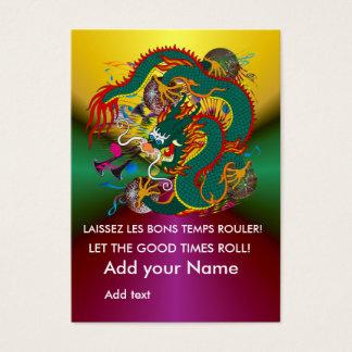 Cartes De Visite Dos de reine du dragon V-2 de The-Mardi Gras
