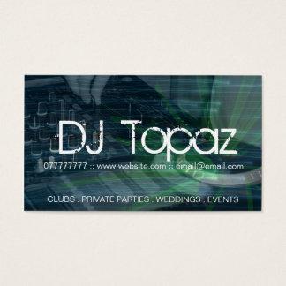 Cartes de visite du DJ