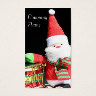 Cartes de visite du père noël de Noël