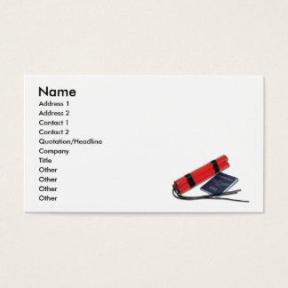 Cartes De Visite DynamitePassportCard, nom, adresse 1, adresse…