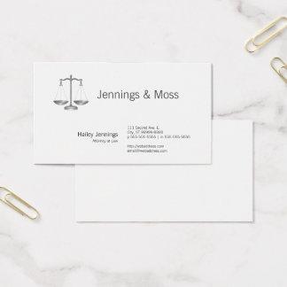 Cartes De Visite Échelles de justice