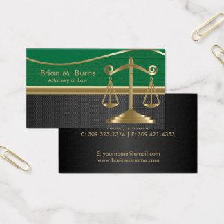 Cartes De Visite Échelles de la loi | d'avocat de la justice |