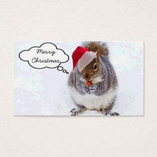 Cartes De Visite Écureuil de vacances