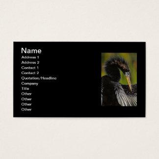 Cartes De Visite Élégance aviaire
