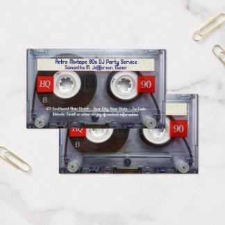 Cartes De Visite Enregistreur à cassettes d'amusement