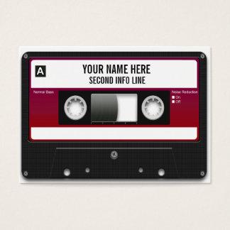 Cartes De Visite Enregistreur à cassettes du DJ Mixtape