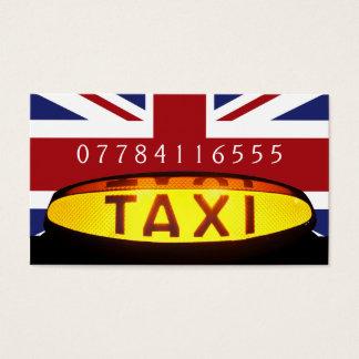 Cartes De Visite Entreprise britannique de taxi