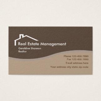 Cartes De Visite Entreprise immobilière