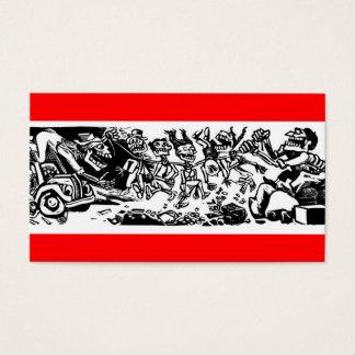 """Cartes De Visite """"Étrangleur Calaveras"""" circa le MEXIQUE 1942"""