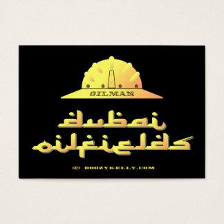 Cartes De Visite Expert pétrolier, gisements de pétrole de Dubaï,