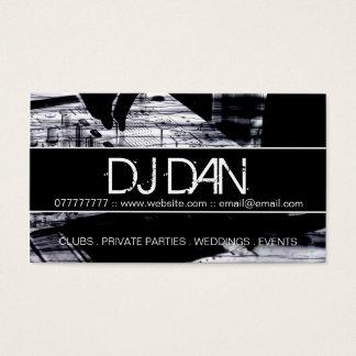 Cartes de visite faits sur commande du DJ