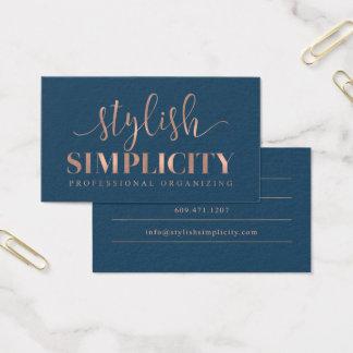 Cartes de visite faits sur commande : Simplicité