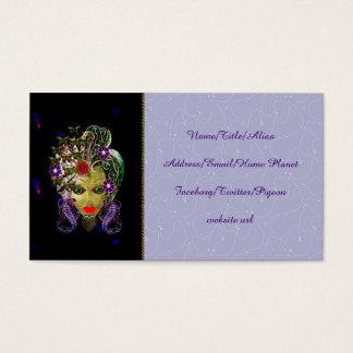Cartes De Visite Femme mystique de Witchy