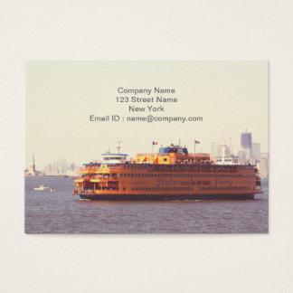 Cartes De Visite Ferry de Staten Island, New York