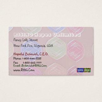 Cartes De Visite Fillette Pakenham - motif de diamant