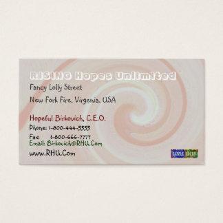 Cartes De Visite Fillette Pakenham - motif de vague en spirale