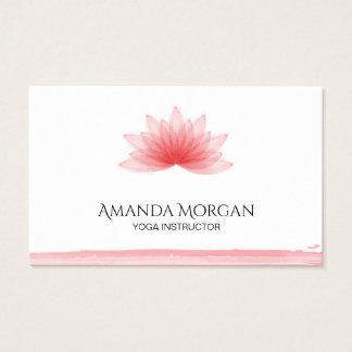 Cartes De Visite Fleur de Lotus