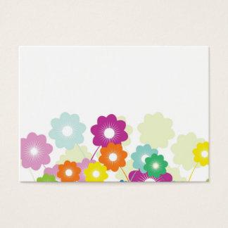 Cartes De Visite Fleurs lumineuses