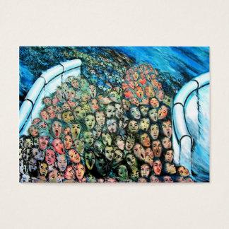 Cartes De Visite Galerie de côté est, mur de Berlin, Évasion de