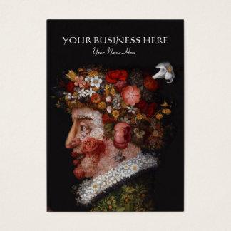 Cartes De Visite Giuseppe Arcimboldo - fleuriste, historien d'art