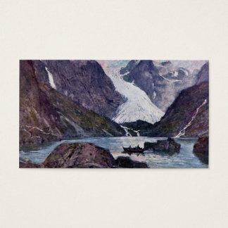 Cartes De Visite Glacier norvégien