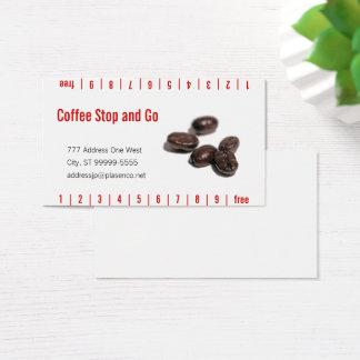 Cartes De Visite Grains de café