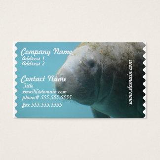 Cartes De Visite Grand lamantin sous-marin