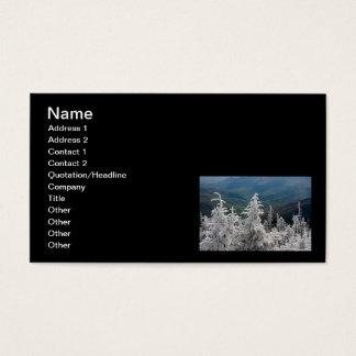 Cartes De Visite Grand parc national de montagne fumeuse