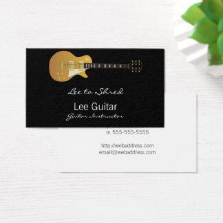 Cartes De Visite Guitare