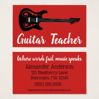 Cartes De Visite Guitare de Beantown