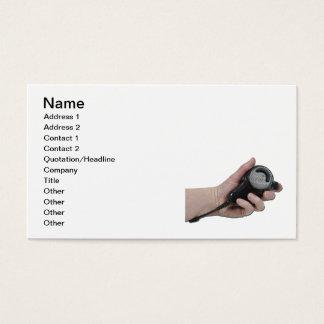 Cartes De Visite HoldingMicrophone020511, nom, adresse 1, Addre…