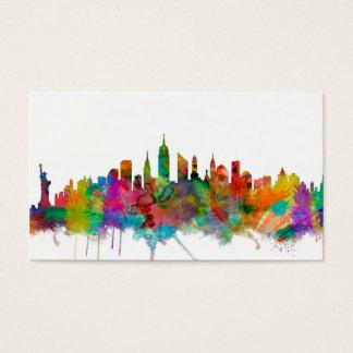 Cartes De Visite Horizon de New York City